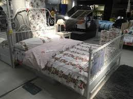 leirvik bed frame ikea leirvik bed frame white luröy trade me