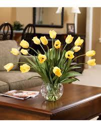 Abundance Of Tulips Silk Centerpiece