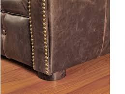 canap chesterfield cuir vieilli canapés et fauteuil chesterfield cuir 2 coloris clotaire