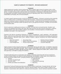 General Summary For Resume Sample Short And Best Ideas 6