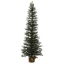 Vienna Twig Christmas Tree Sale by 3 U0027 Mini Pine Artificial Christmas Tree In Burlap Base Unlit