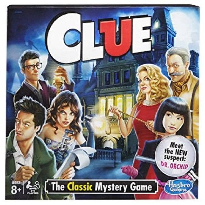Hasbro Clue The Classic Mystery Game