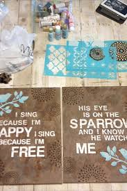 Love These Do It Yourself Canvas Crafts Word ArtDiy