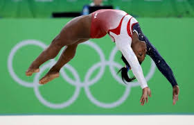 Simone Biles Floor Routine by Simone Biles Guides United States To Gymnastic Team Gold As Great