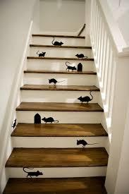 escaliers jouez la carte printemps mettez de la couleur