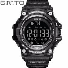 GIMTO Brand Men Smart Watches patible Android & Apple Iphone