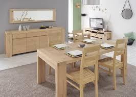table salle à manger bois massif table a manger contemporaine