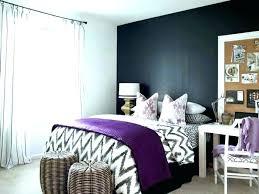 Dark Gray Accent Wall Ideas Living Bedom Grey Purple Items Om