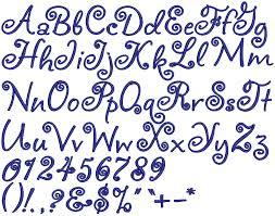 Cute Alphabet Fonts