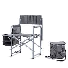 Folding Compact Director's Chair Aluminum Cup Holder Side Table ... Directors Chairs With Folding Side Table Youtube Mings Mark Stylish Camping Brown Full Back Chair Costway Compact Alinum Cup Deluxe Tall Director W And Holder Side Table Cooler Old Man Emu Adventure 4x4 With Black 156743 Rv Outdoor Meerkat Bushtec Heavy Duty Marquee Alinium Home Portable Pnic Set Double Chairumbrellatable Blue Shop Outsunny Steel Camp