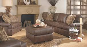 Interior Furniture Rustic Convertible Features Dark Brown Regarding Sofa For Living Room Lismag