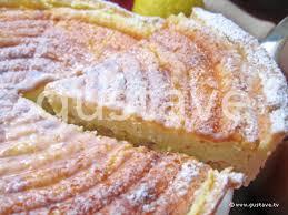 tarte alsacienne au fromage blanc aux raisins secs et au citron