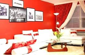 Red Accent Wall In Dining Room Decor