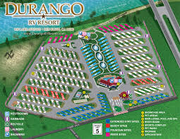Park Map Durango RV Resort