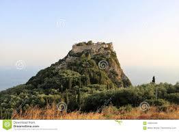 100 Angelos Landscape Angelokastro Corfu Greece Stock Photo Image Of Greece