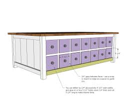 Apothecary Chest Plans Free by Ana White Apothecary Coffee Table With Toybox Trundle Diy Projects