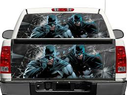 100 Truck Tailgate Decals Product Batman DC Comics Rear Window OR Tailgate Decal Sticker Pick