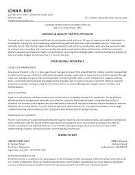 Qc Inspector Resume Quality Control Manager Sample Welding