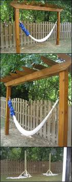25+ Unique Hammock Stand Ideas On Pinterest | Hammock Diy Stand ... Fniture Indoor Hammock Chair Stand Wooden Diy Tripod Hammocks 40 That You Can Make This Weekend 20 Hangout Ideas For Your Backyard Garden Lovers Club I Dont Have Trees A Hammock And Didnt Want Metal Frame So How To Build Pergola In Under 200 A Durable From Posts 25 Unique Stand Ideas On Pinterest Diy Patio Admirable Homemade To At Relax Your Yard Even Without With Zig Zag Reviews Home Outdoor Decoration