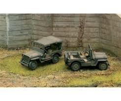 1:72 1/4 Ton 4x4 Truck - Military Vehicles 1:72/Fast Ass. - Plastic ...
