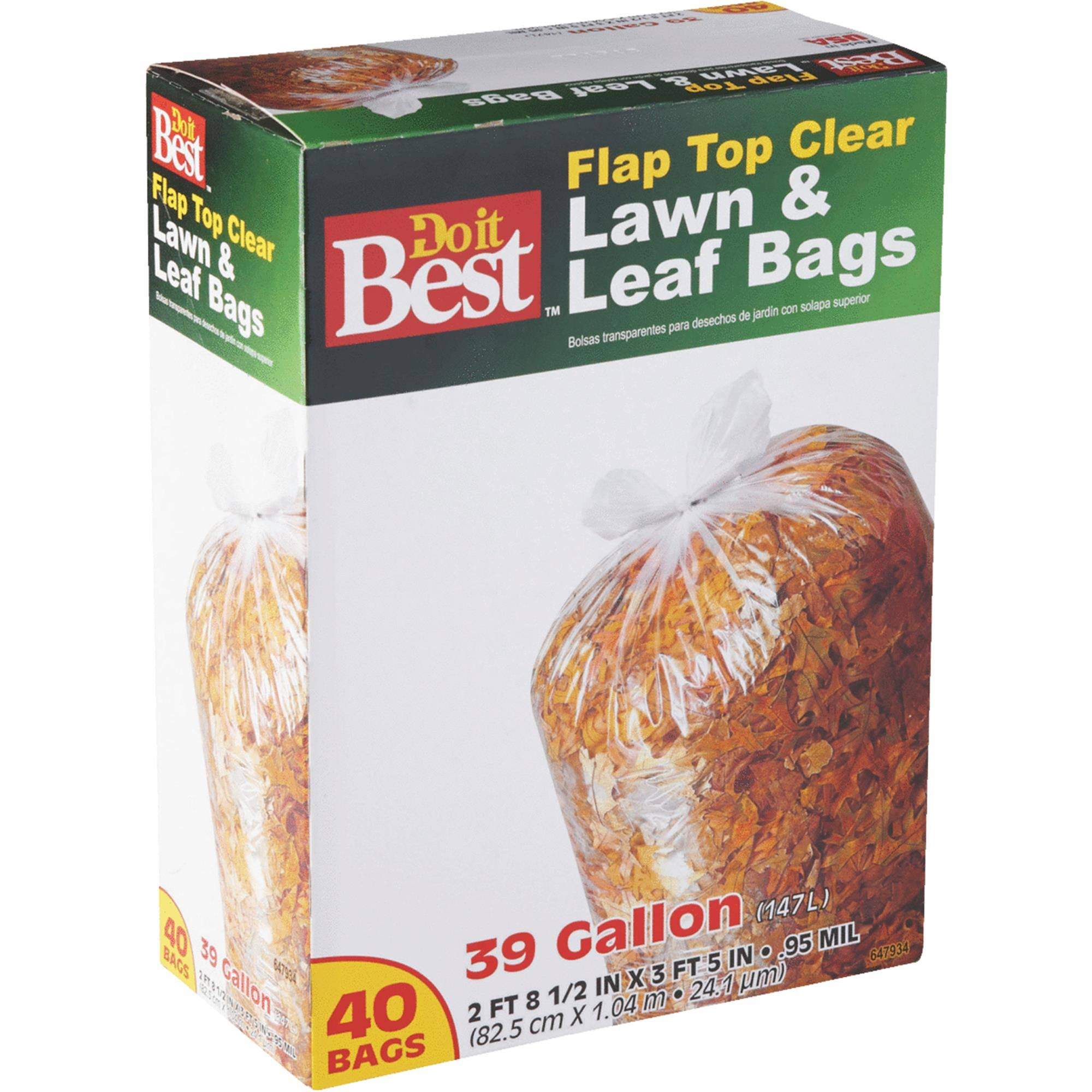 Do it Best Lawn & Leaf Bag - 40 bags