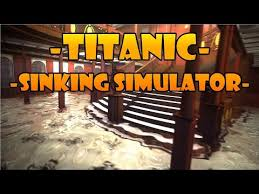 Titanic Sinking Simulation Real Time by Titanic Sinking Simulator 3d Titanic Sinking
