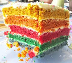 regenbogentorte für kinder ohne zucker handmade kultur