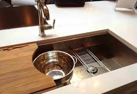 Ceco Stainless Steel Sinks by Kitchen Sink With Cutting Board Designfree