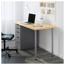 Linnmon Corner Desk Hack by Alex Drawer Unit White Ikea