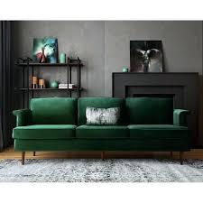 Green Velvet Sofa Walmart Emerald For Sale Ikea Reviews