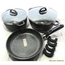 batterie de cuisine schumann lot de faitout 24 28 cm et poêle 28cm schumann sans pfoa achat