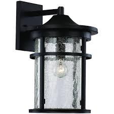 trans globe 40381 crackled outdoor 1 light medium seeded glass