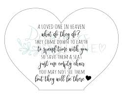 In Heaven Plaque | With Rocking Chair