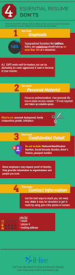 Resume Don'ts – Job Search Tips | IHire How To Write A Resume 2019 Beginners Guide Novorsum Ebook Descgar Job Forums Valerejobscom 1 Basic Resume Dos And Donts Pdf Formats And Free Templates Tutorialbrain Build A Life Not Albatrsdemos The Dos Donts Writing Rockin Infographic Top Writing Tips Get An Interview Call Anatomy Of How Code Uerstand Visually Why You Should Go To Realty Executives Mi Invoice Format Donts Services For Senior Cv Guides Student Affairs