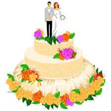 Wedding Cake clipart wedding day 3