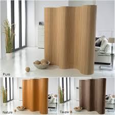 details zu doppelseitiger bambus paravent raumteiler trennwand sichtschutz in 3 farben