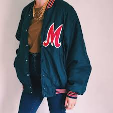 Vintage Hartwell Sports Athletic Bomber Jacket