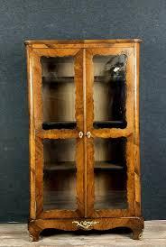 bücherregal oder wohnzimmer vitrine in santos palisander