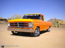 100 71 Ford Truck Ford Pickup 19 F100 Custom For Sale Id 25645