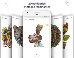 Coloring Pages With Unique Designs And Mandalas In All Sorts Of Shapes Sizes Get A Fascinating Stress Reliever Right On Your Android