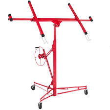 Best Choice Products 11ft Drywall Lift Panel HoistJack Lifter ...