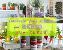 Kitchen Decorating Ideas With Herbs 47