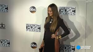 Chrissy Teigen addressed her AMAs wardrobe malfunction like a boss