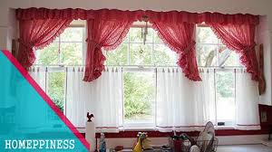 Kitchen Curtain Ideas Pictures by Must Watch 25 Captivating Kitchen Curtain Ideas For Large Window