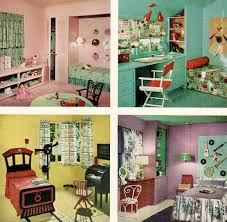 Wonderful 50s Bedroom Decor Chronically Vintage Four Marvelously Colourful 1950s Childrenu0027s Bedrooms