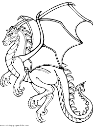 Dragon More Free Printable Fantasy Medieval Coloring Pages