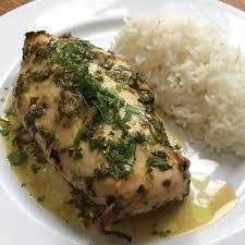 cuisine coriandre poulet au citron vert et coriandre cuisine de mémé moniqcuisine