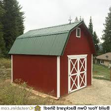 12x16 Storage Shed Plans by 12x16 Gambrel Shed Plans Blog4 Us