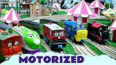 Trackmaster Tidmouth Sheds Youtube by Chuggington Motorized At Tidmouth Sheds Kids Toy Thomasthe Train