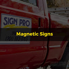 Magnetic Signs - Bismarck Mandan Sign Pro